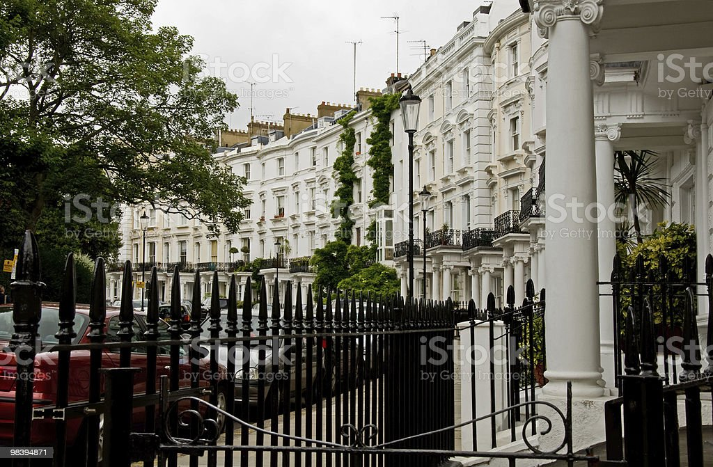 노팅힐, 런던 royalty-free 스톡 사진