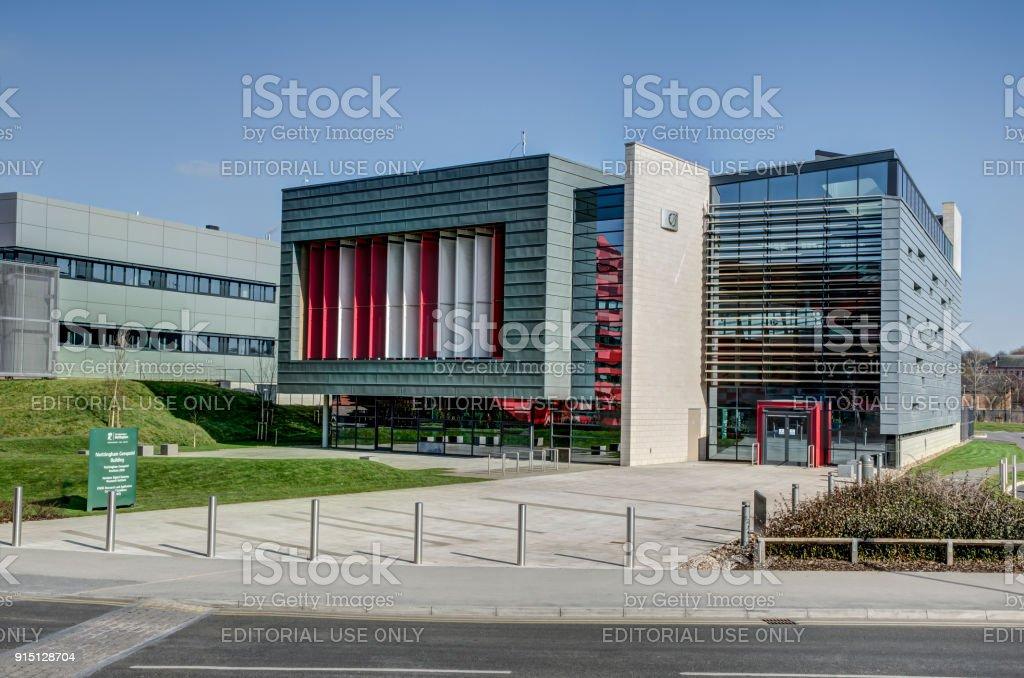 Nottingham Geospatial Institute stock photo