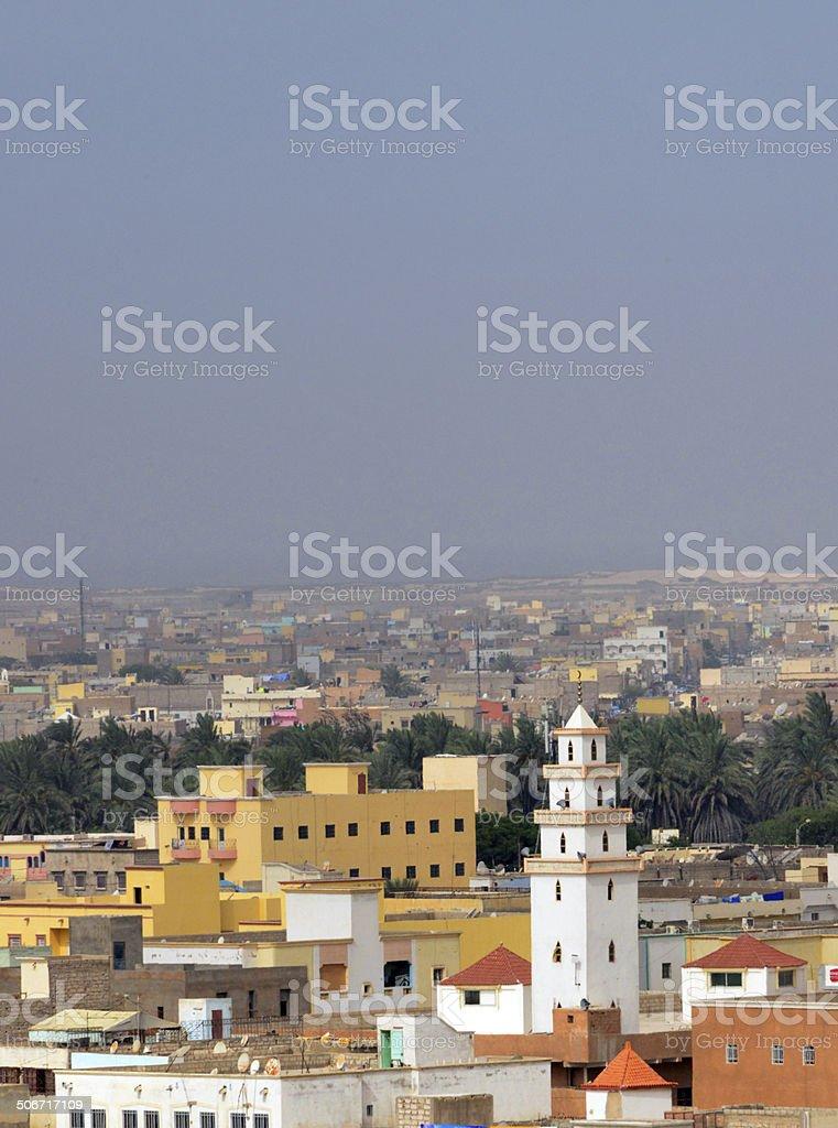 Nouakchott, Mauritania: skyline stock photo