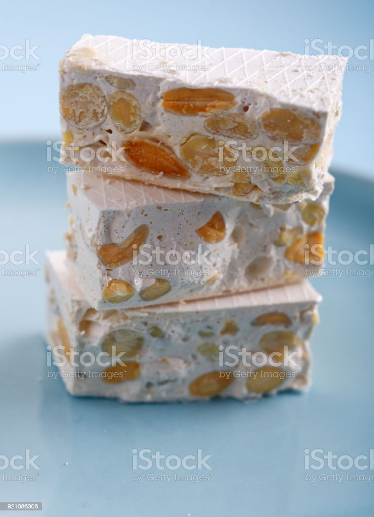 Turron stock photo