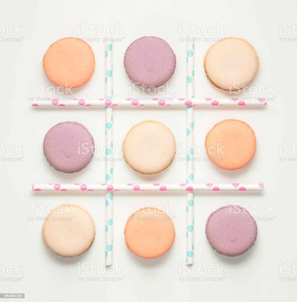 Noughts and crosses. royalty-free stock photo