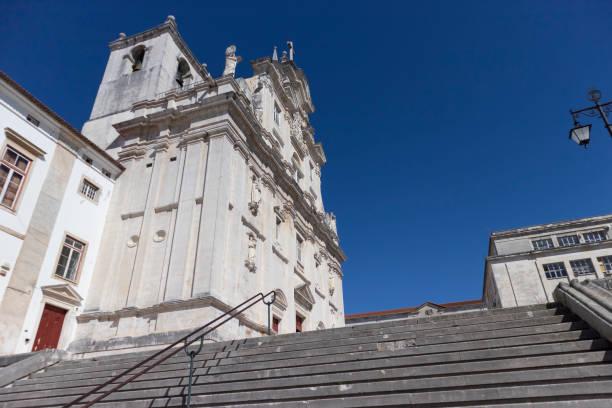 Sé Nova de Coimbra Cathedral, Portugal-Stock photography - foto stock