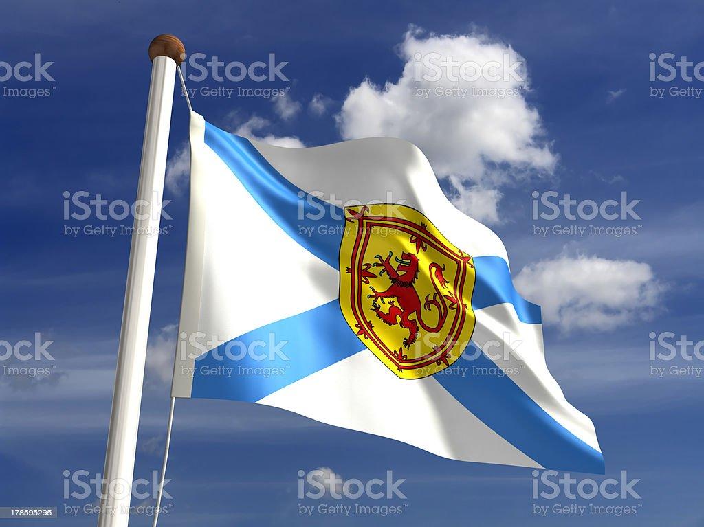 Nova Scotia flag Canada stock photo