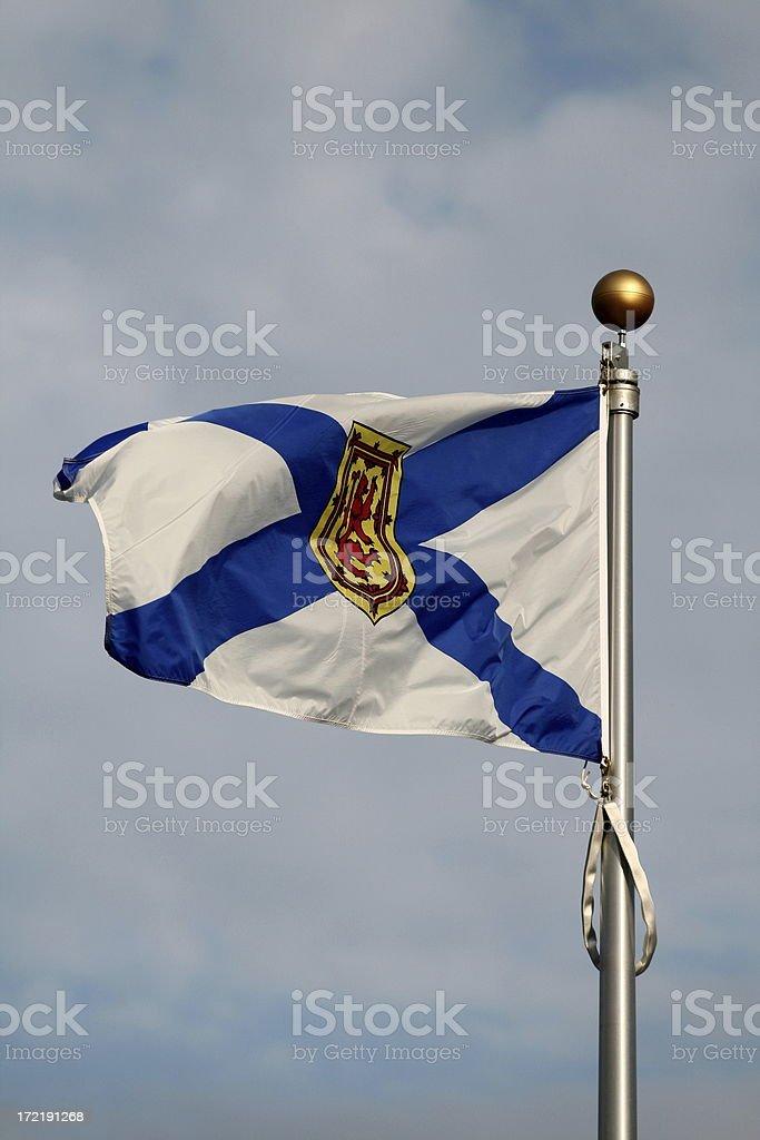Nova Scotia Flag royalty-free stock photo