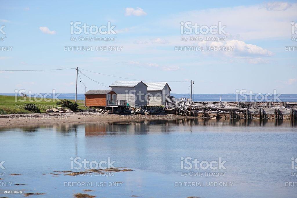 Nova Scotia scenery. At Upper Blandford, Nova Scotia stock photo