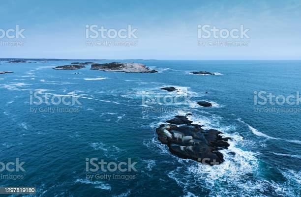 Photo of Nova Scotian Coastline at Dusk