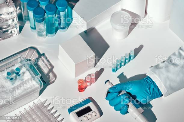 Novel Coronavirus 2019 Ncov Pcr Diagnostics Kit This Is Rtpcr Kit To Detect Presence Of 2019ncov Or Covid19 Virus In Samples Of Patients In Vitro Diagnostic Test Realtime Rt Pcr Technology Stock Photo - Download Image Now