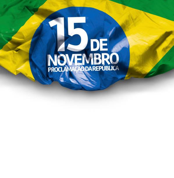 November 15, Brazil Proclamation of the Republic stock photo