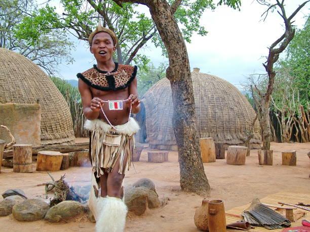Zulu stock photos e imagens istock zululand south africa circa november 2011unidentified man dressed in zulu warrior clothing stopboris Gallery