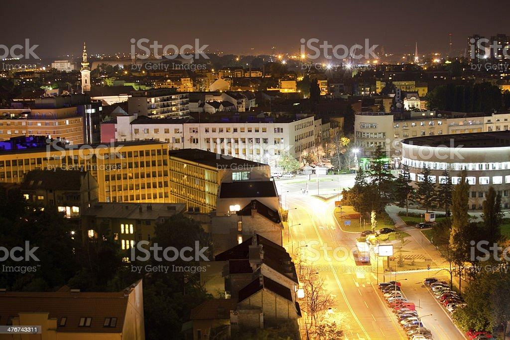 Novi Sad,Serbia royalty-free stock photo
