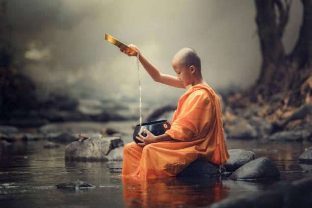 초보자 수도사 - 부처 불교 뉴스 사진 이미지