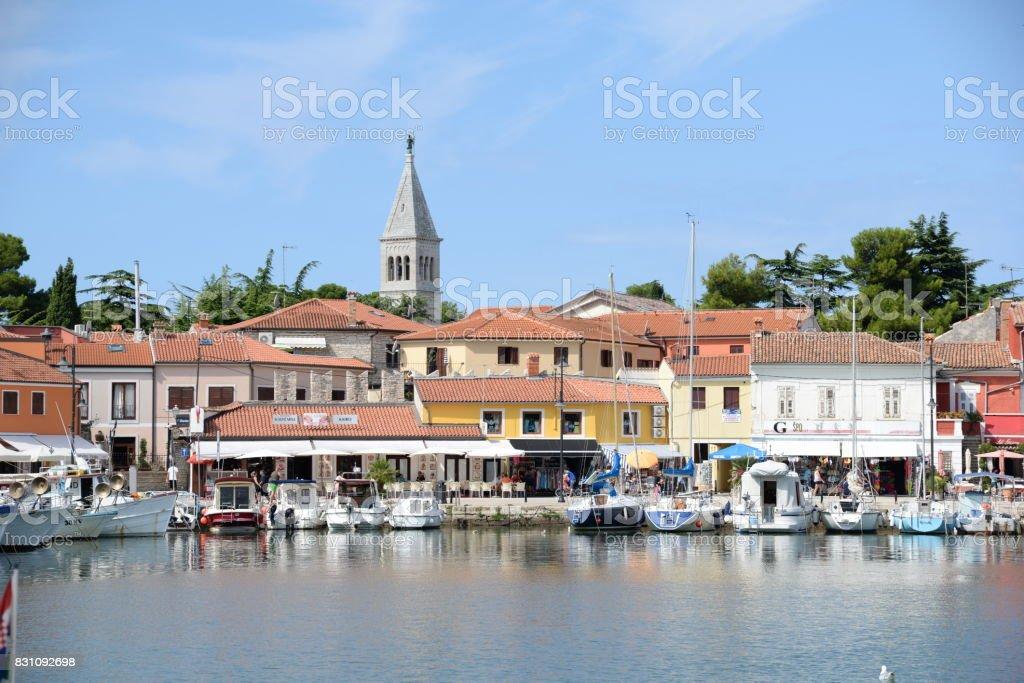 Novigrad, istria, Croatia stock photo