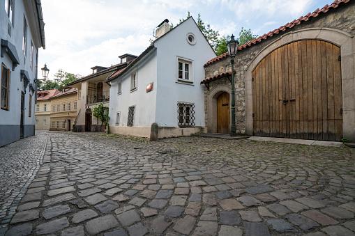 Novy Svet District In Prague - zdjęcia stockowe i więcej obrazów Architektura