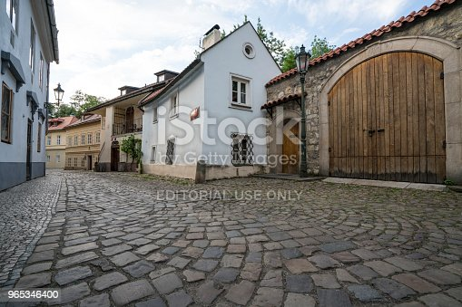 Novy Svet District In Prague Stock Photo & More Pictures of Ancient