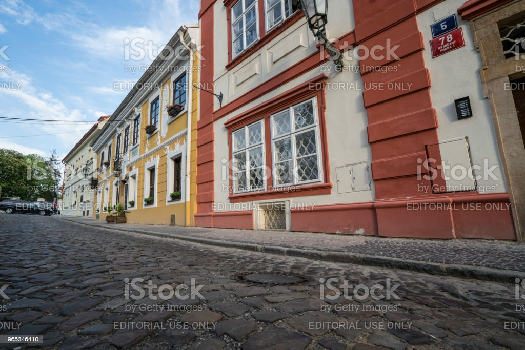 Novy Svet district in Prague royalty-free stock photo