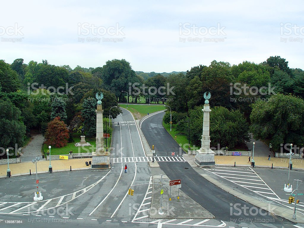 Now Entering Prospect Park royalty-free stock photo