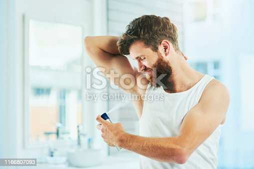 istock Now I smell as good as I look 1166807093