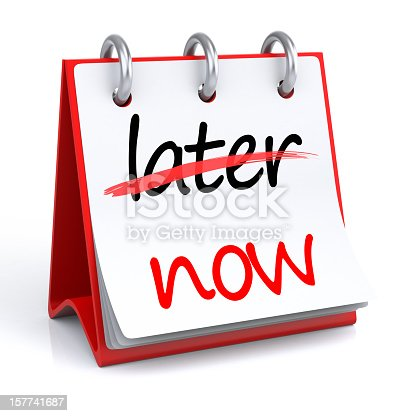 istock Now - Later 157741687