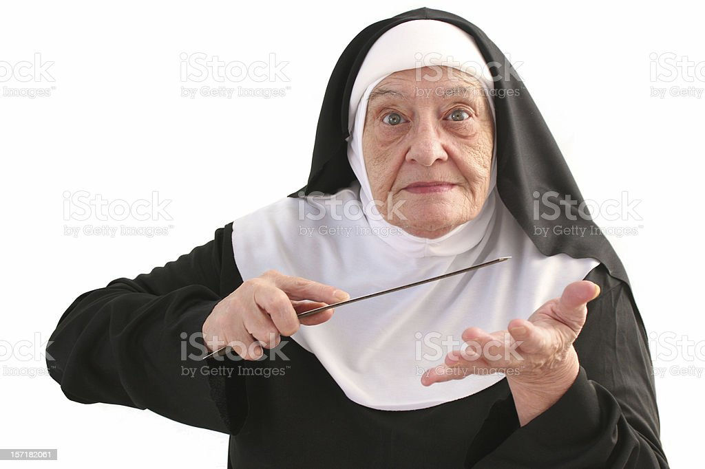 Nun Series royalty-free stock photo