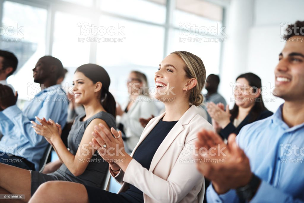 Now that's something to get excited about stock photo