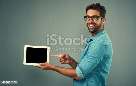 istock Now that's something worth downloading 682621370