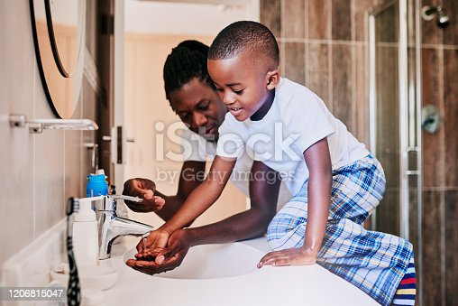 1182622704istockphoto Now we rinse all the soap off 1206815047