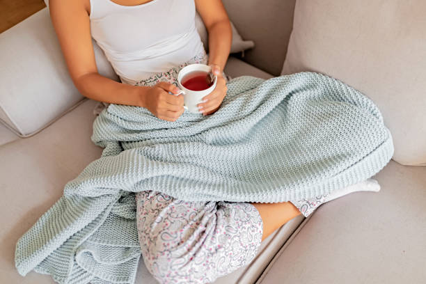 Nowhere more relaxing than home... stock photo