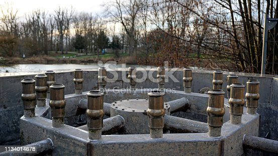 Revision of the nozzles from the pond water fountains