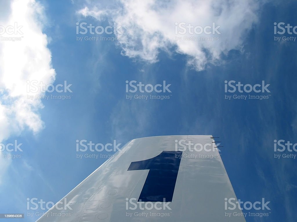 Nr. 1 in the sky royalty-free stock photo
