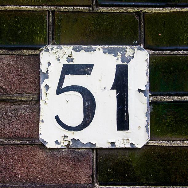 nr. 51 - numero 51 fotografías e imágenes de stock