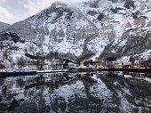 The Nærøyfjord in Norway