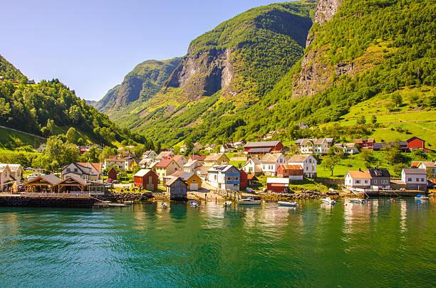 Nærøyfjord in Norwegen – Foto