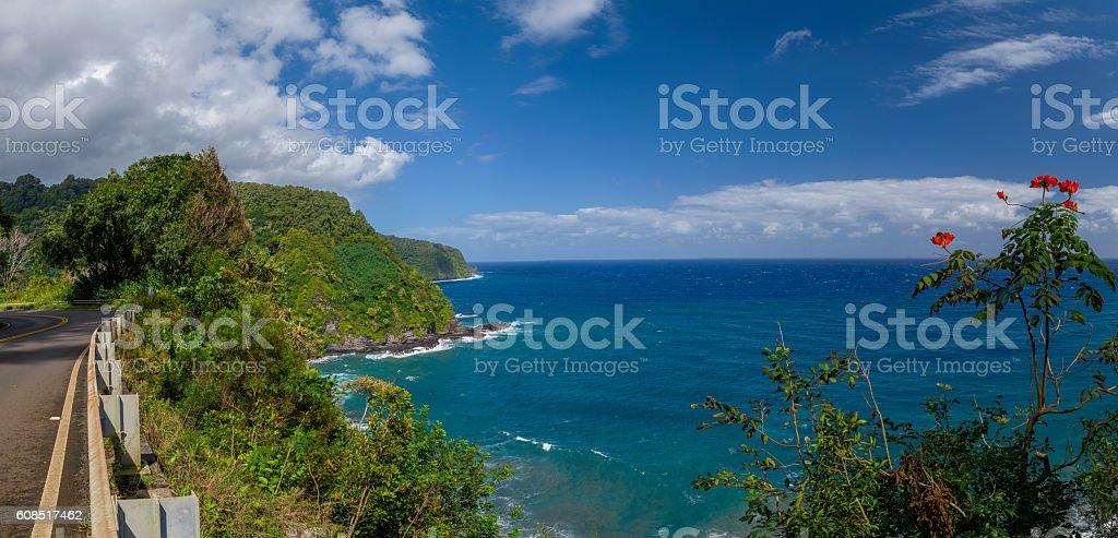 nuaailua bay stock photo