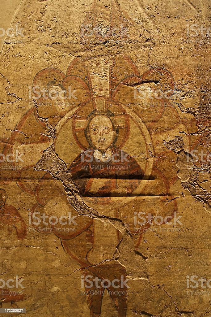 Nubian art royalty-free stock photo