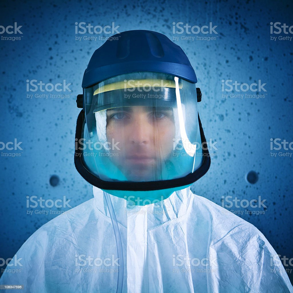 Nuclear alert royalty-free stock photo