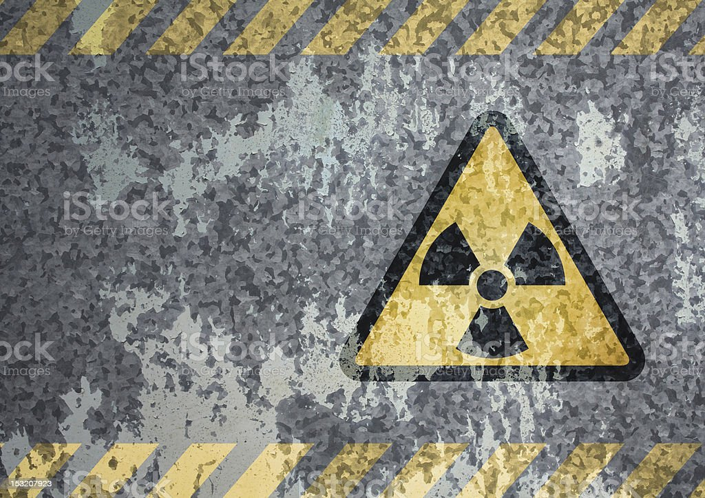 Nuclear background stock photo