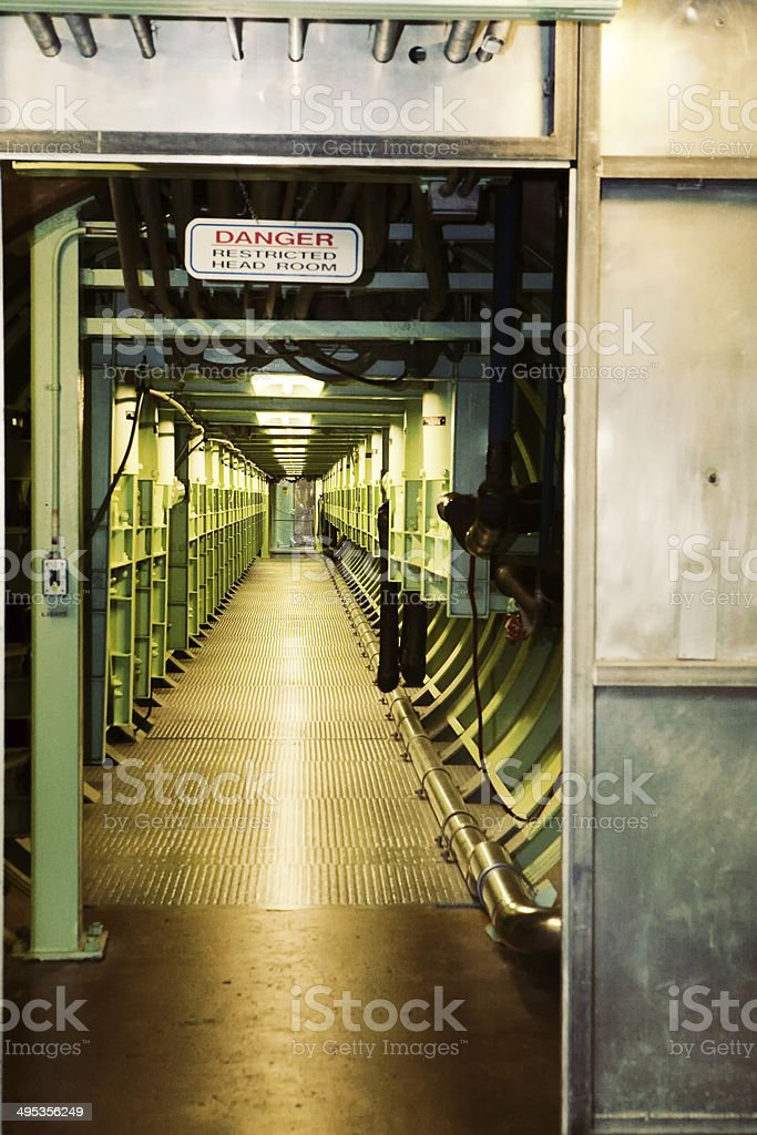 Nuclear Bunker royalty-free stock photo