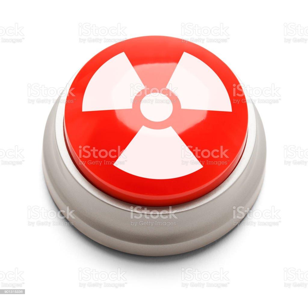 Nukleära knappen bildbanksfoto