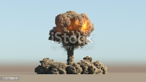 istock Nuclear explosion 1127790141
