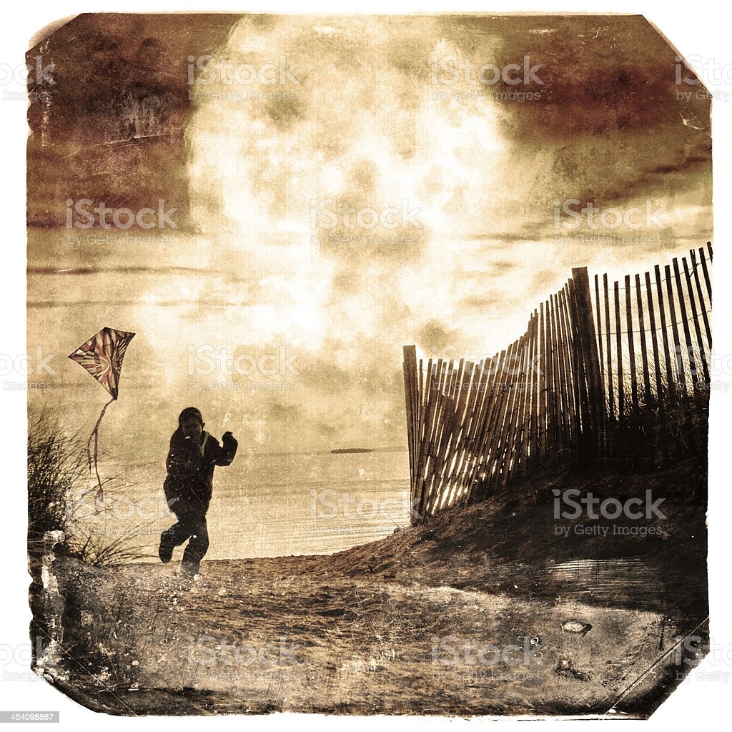 Nuclear holocaust stock photo