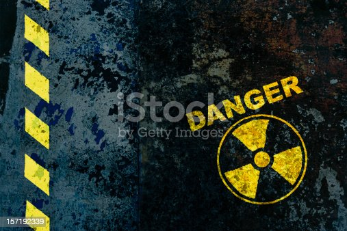 Warning sign : nuclear danger