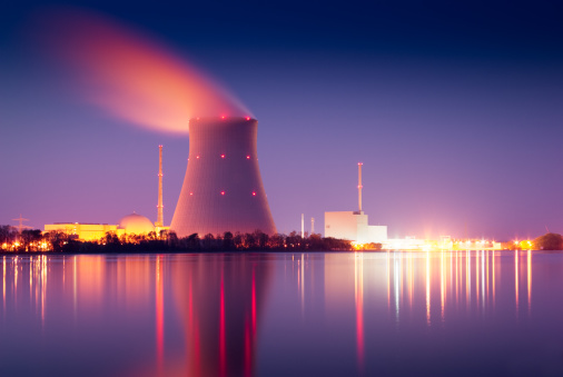 Nuclear Power Plant Stock Photo - Download Image Now