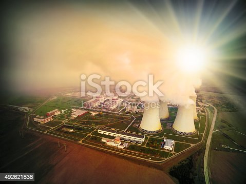 istock Nuclear power plant. 492621838