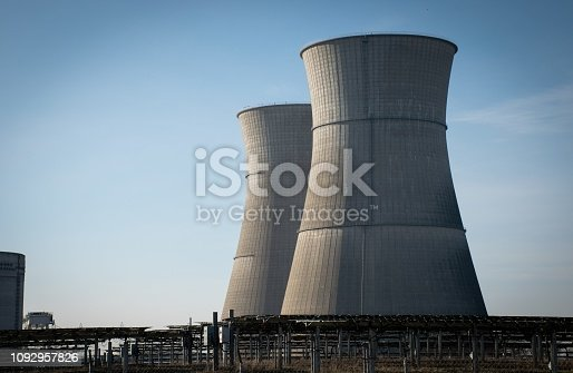 Former Rancho Seco nuclear plant in California, USA