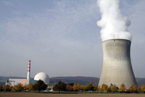 Nuclear Power Station Leibstadt in CH