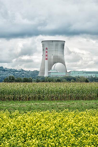 Atomkraftwerk, Siederwasserreaktor, Leibstadt, Schweiz – Foto