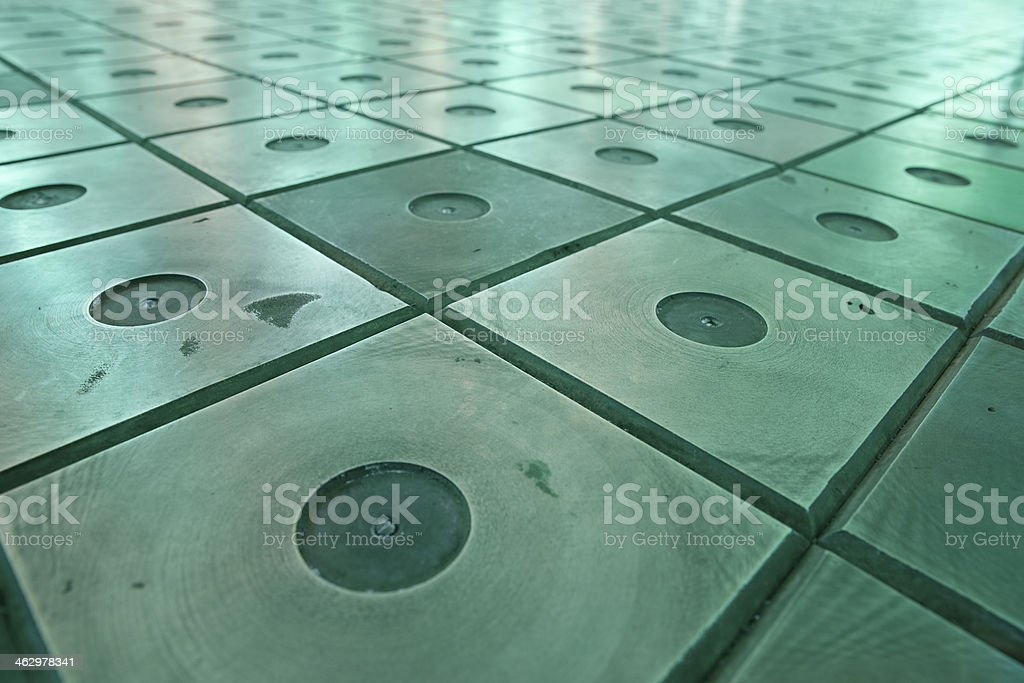 Nuclear reactor core stock photo
