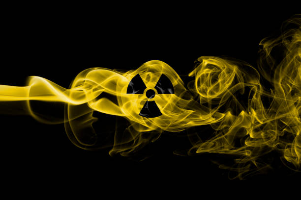 Nuclear smoke Nuclear smoke radioactive contamination stock pictures, royalty-free photos & images
