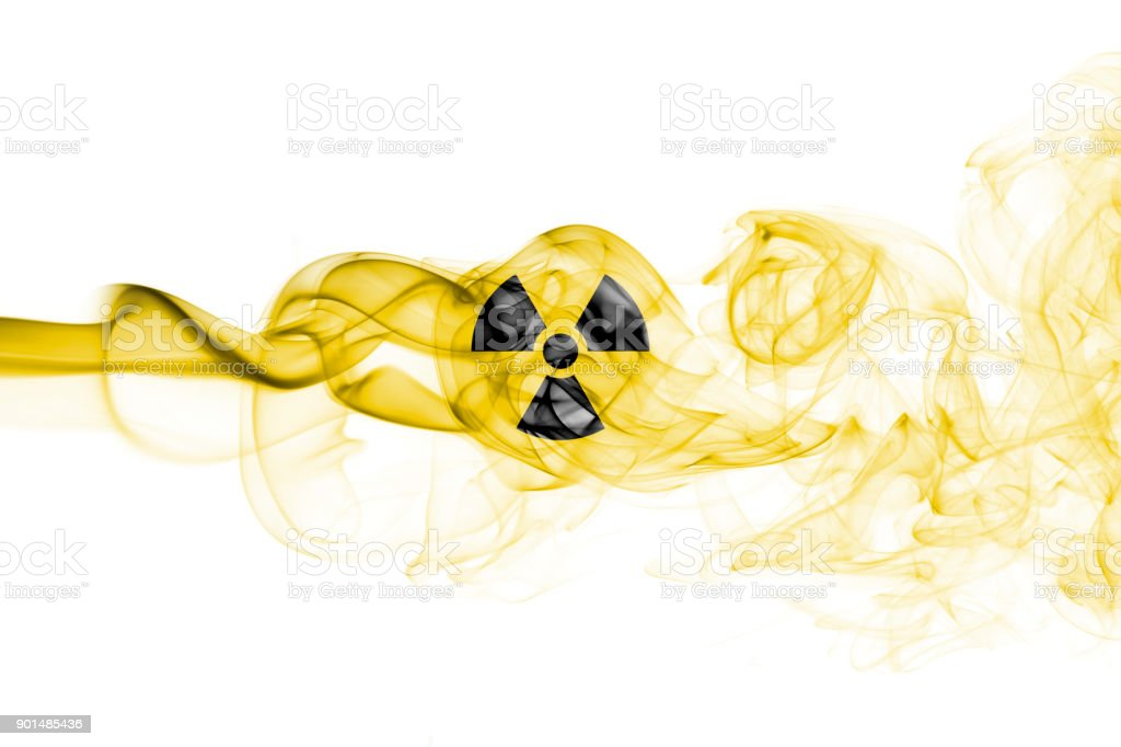 Nuclear smoke stock photo