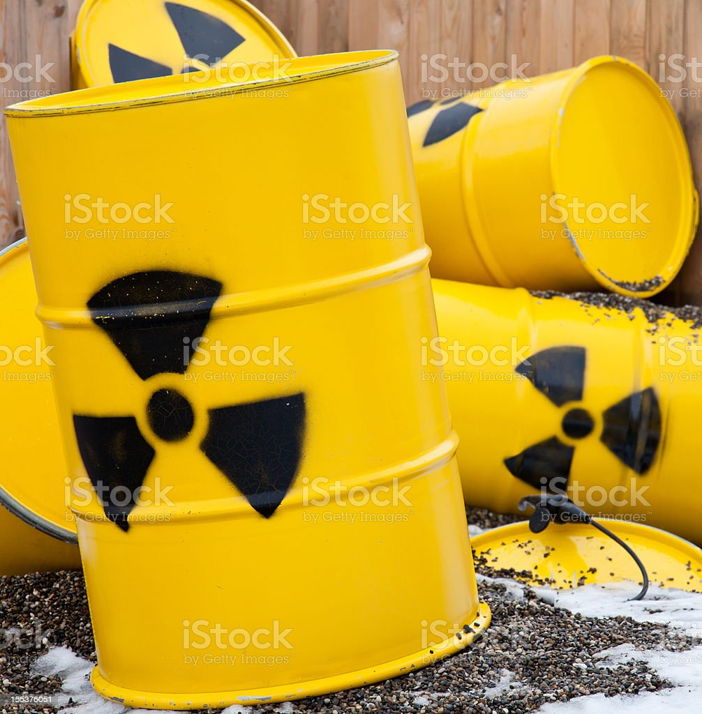 nuclear waste royalty-free stock photo